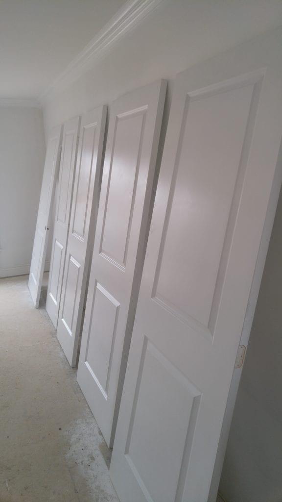 Sprayed Doors